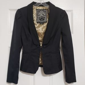 Guess Black Stretch Blazer Size XS
